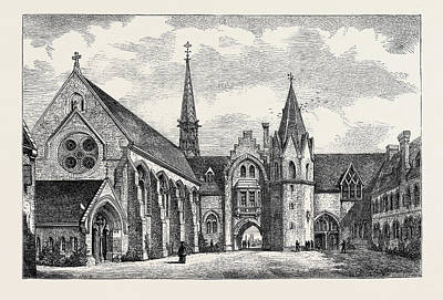 Stratford Drawing - St. Pauls College by English School