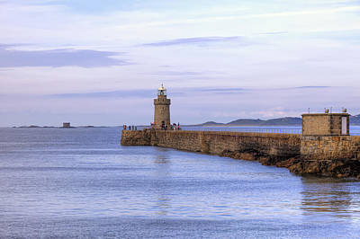 Castle Photograph - St Peter Port - Guernsey by Joana Kruse