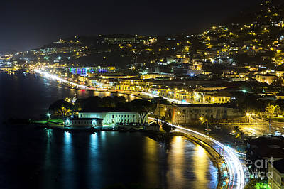 Photograph - St. Thomas At Night by Eyzen Medina