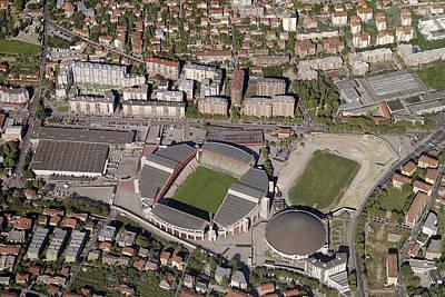Stadio Nero Rocco Print by Blom ASA