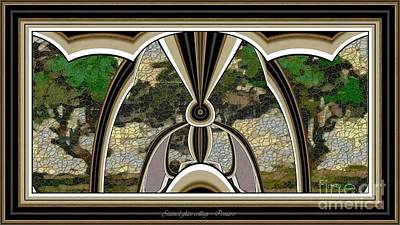 Pemaro Painting - Stained Glass Collage Sgc2 by Pemaro