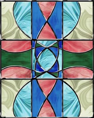 Stained Glass Window 2 Print by Shawna Rowe