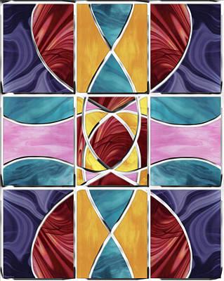 Stained Glass Window Print by Shawna Rowe