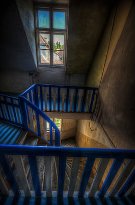 Staircase Blues  Print by Nathan Wright