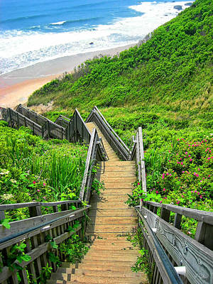 East Coast Photograph - Staircase To Gem by Lourry Legarde