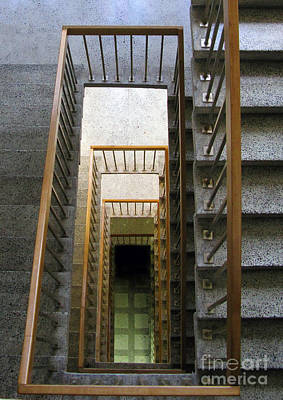 Stairs Print by Ausra Huntington nee Paulauskaite