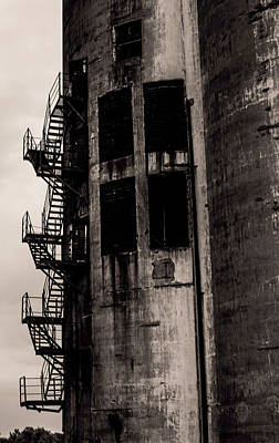 Stairs To Nowhere Print by Jim Markiewicz