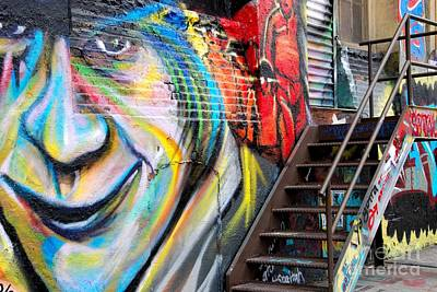 5 Pointz Photograph - Stairs To Somewhere by Andrea Simon