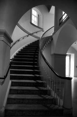 Stairway Study V Print by Steven Ainsworth