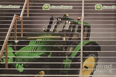 Stairway To John Deere Heaven Print by Janice Rae Pariza