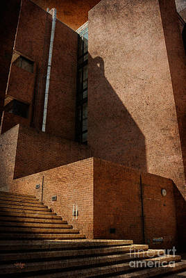 Brick Photograph - Stairway To Nowhere by Lois Bryan