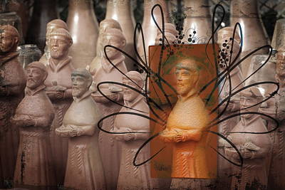 Terra Cotta Digital Art - Stand Out From The Crowd by Terry Fleckney