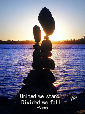 Stand Together Original by Maria Aduke Alabi