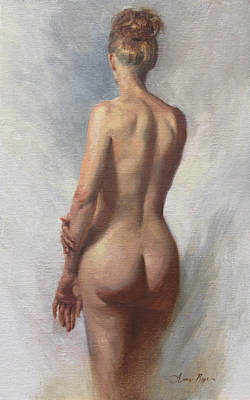 Standing Nude I Original by Anna Rose Bain