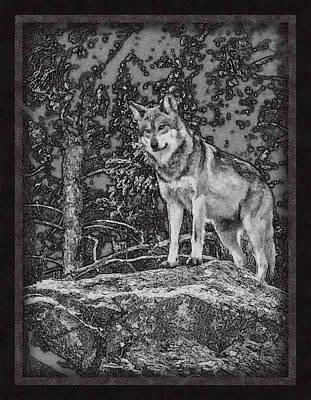 Standing Tall Print by Ernie Echols