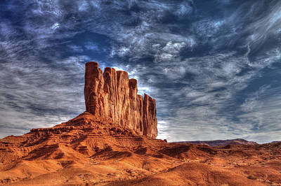 Arizonia Photograph - Standing Tall In Color by Frederick H Claflin