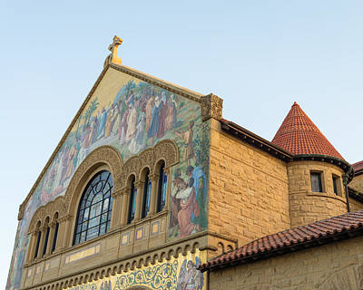 Stanford Photograph - Stanford Memorial Church by Priya Ghose