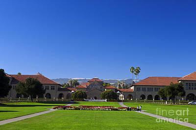 Stanford University Main Quad Print by Jason O Watson