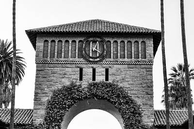 Stanford Photograph - Stanford University Time by Priya Ghose