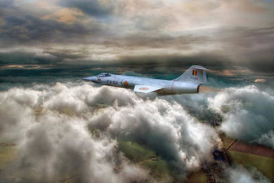 Jet Star Photograph - Star Fighting by Jason Green