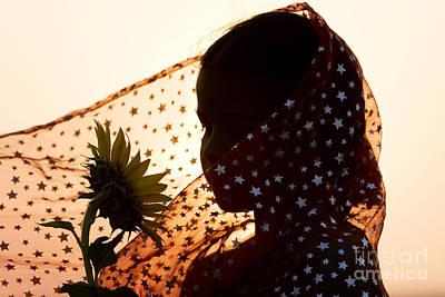 Shawl Photograph - Star Girl  by Tim Gainey