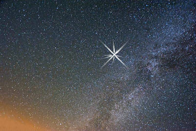 Star Of Bethlehem Print by Randall Branham