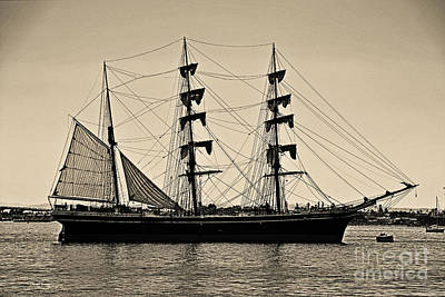 Windjammer Photograph - Star Of India by Cheryl Young
