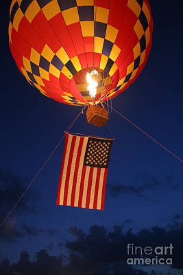 Star Spangled Glow Print by Paul Anderson