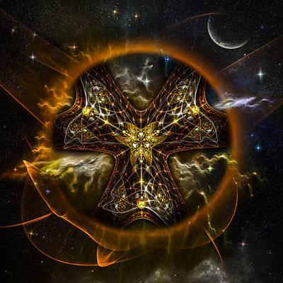 Phil Clark Digital Art - Starcatcher by Phil Clark