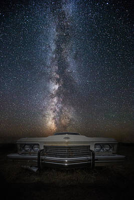 Stardust And Rust  Riviera Print by Aaron J Groen