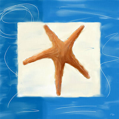 Shell Texture Digital Art - Starfish Galore by Lourry Legarde
