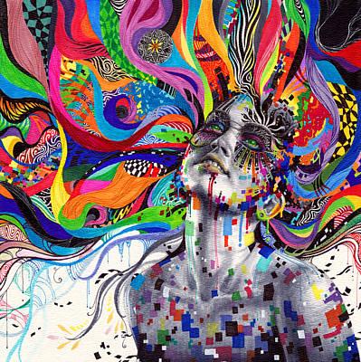 Trippy Drawing - Stargaze by Callie Fink