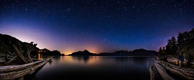 Selfie Photograph - Stargazing by Alexis Birkill