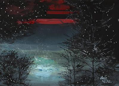 Starry Night Original by Anil Nene