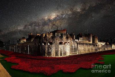 Tower Of London Digital Art - Starry Night  by J Biggadike