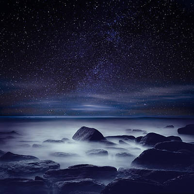 Starry Night Print by Jorge Maia