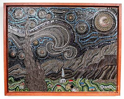 Czappa Sculpture - Starry Starry Night 2 by Bill Czappa