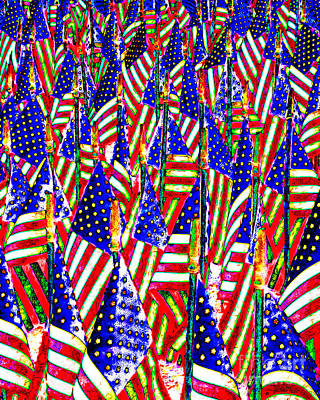 Made In The Usa Digital Art - Stars And Stripes 20140821 by Wingsdomain Art and Photography