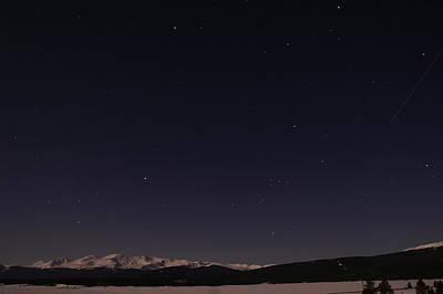 Mt. Massive Photograph - Stars Over Sawatch by Jeremy Rhoades