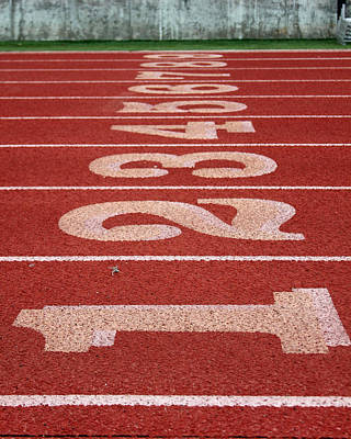 Starting Line Print by Shoal Hollingsworth