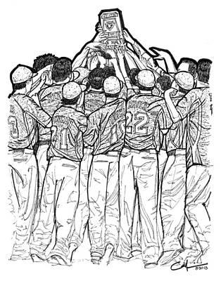 State Champions Original by Calvin Durham