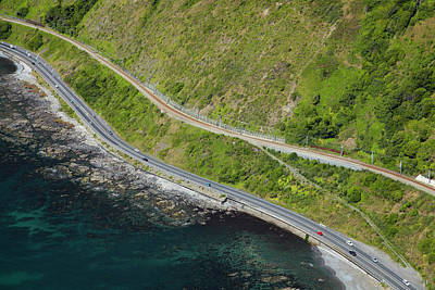 State Highway One And North Island Main Print by David Wall