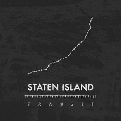 Liberty Island Digital Art - Staten Island Transit  by Damon Gray