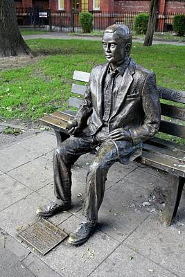Statue Of Alan Turing Print by Martin Bond