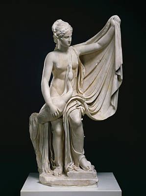Leda Drawing - Statue Of Leda And The Swan Unknown Roman Empire 1st by Litz Collection