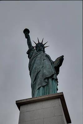 York Photograph - Statue Of Liberty - Paris France - 01131 by DC Photographer