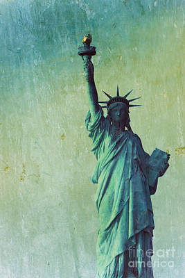 Statue Of Liberty Print by Sophie Vigneault