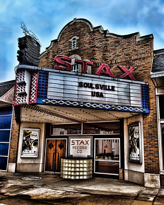 Stax Records Print by Stephen Stookey
