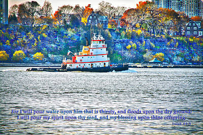 Island Stays Photograph - Stay Afloat With Hope by Terry Wallace