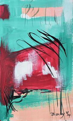 Abstract Painting - Staying In Miami by Donna Blackhall
